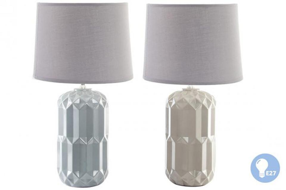 Keramička lampa geometric  22,5x41,5 e27 2 modela