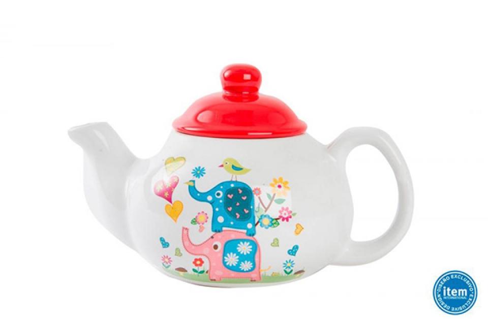 Keramički čajnik slon
