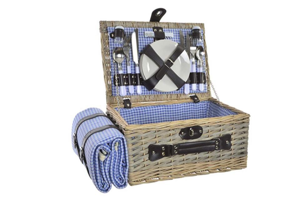 Korpa za piknik sa priborom 40x28x19