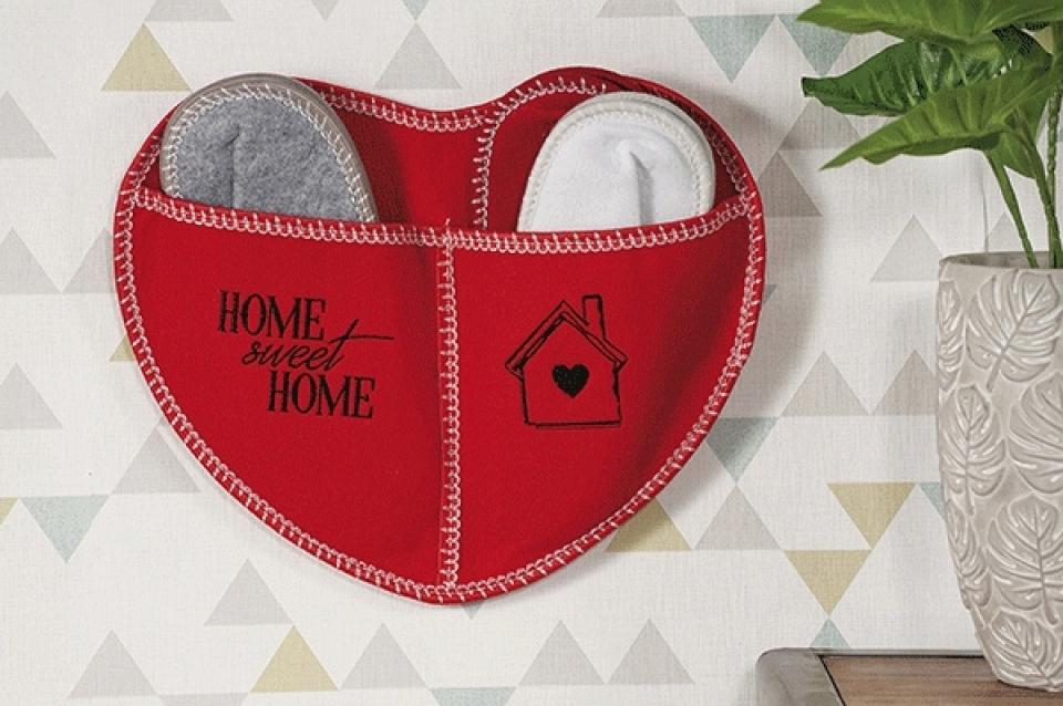Kućne papučice heart set / 3 4 boje