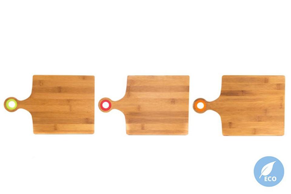 Kuhinjska daska sa drškom 30,5x20x1 3 boje