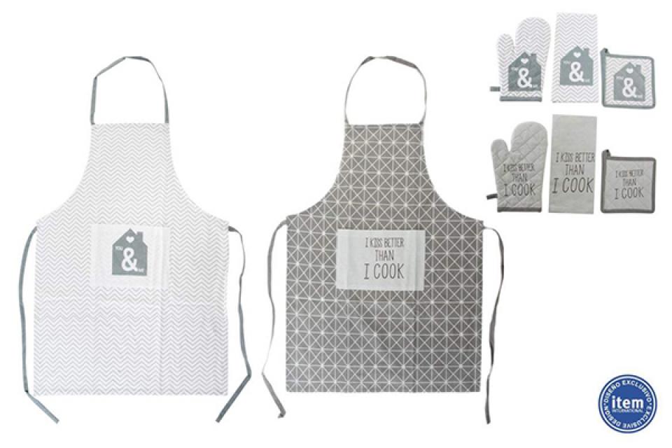 Kuhinjski tekstil set 4 cook 60x80 2 modela