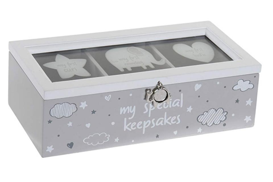 Kutija  elephant grey 22,5x8,5x7