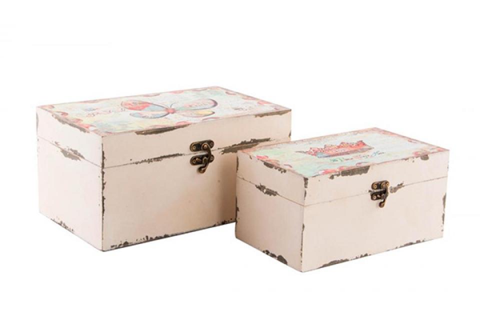 Kutija drvena  etno set / 2