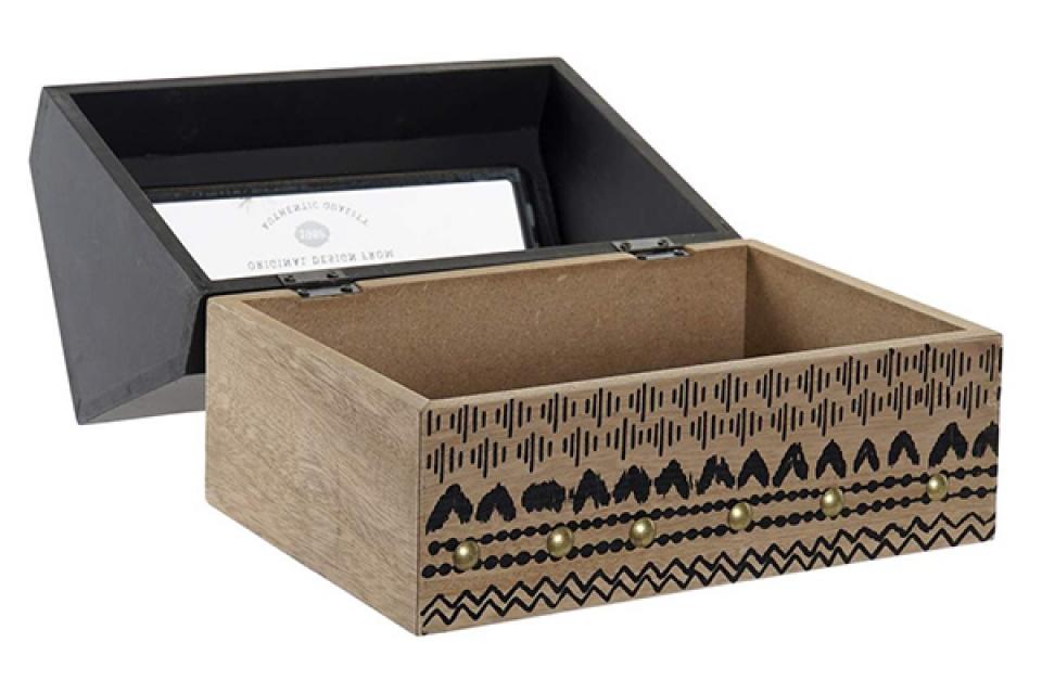 Kutija natur black 22x14x17