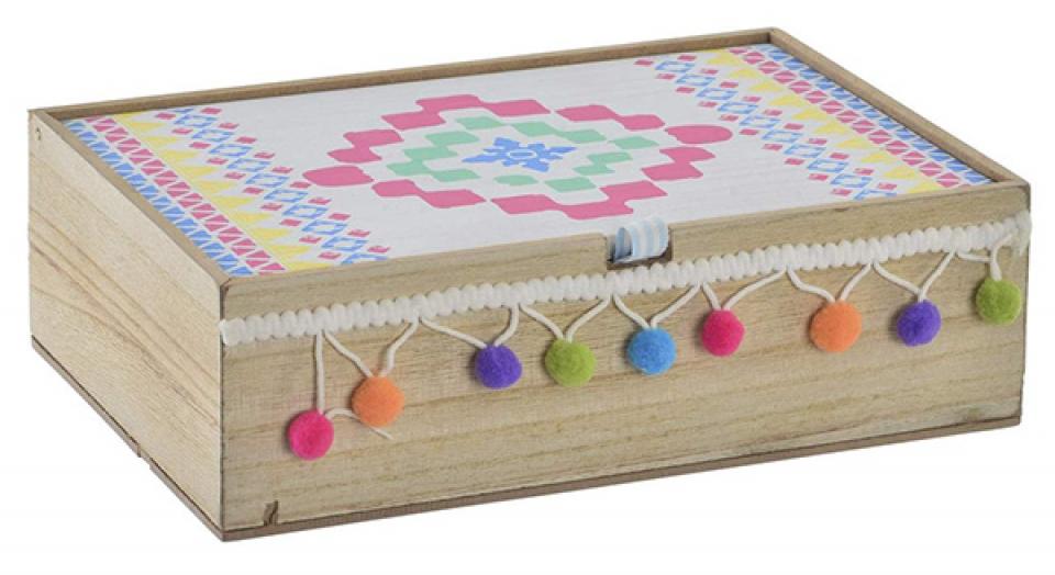 Kutija pompom  23x15,5x7