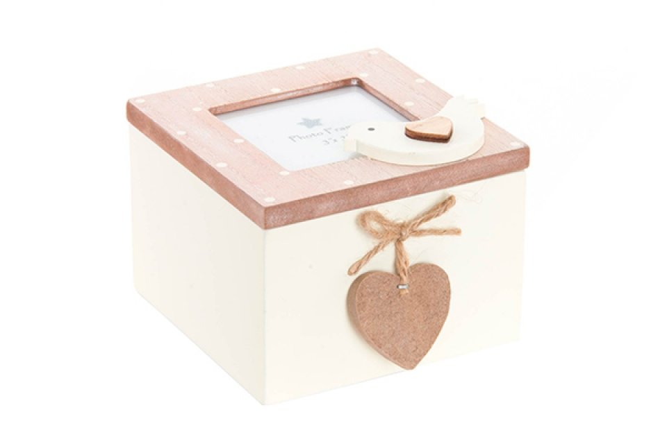 Kutija sa pticom i srcem 11x11x9
