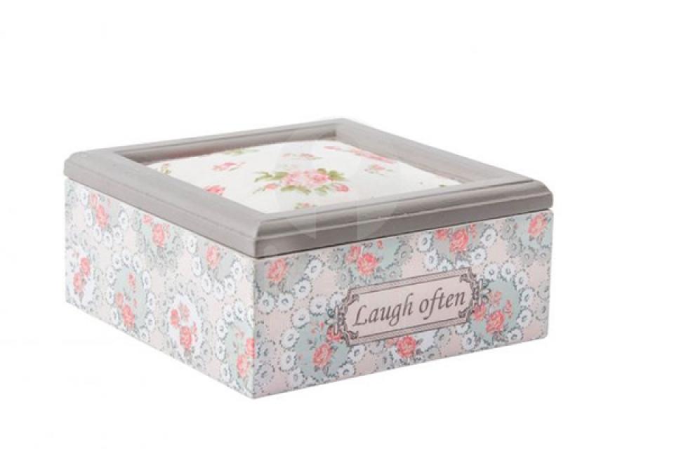 Kutija sa ružicama 15x15x8