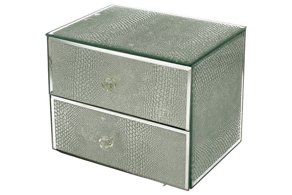Kutija silver snake  12,5x13,2 x 12