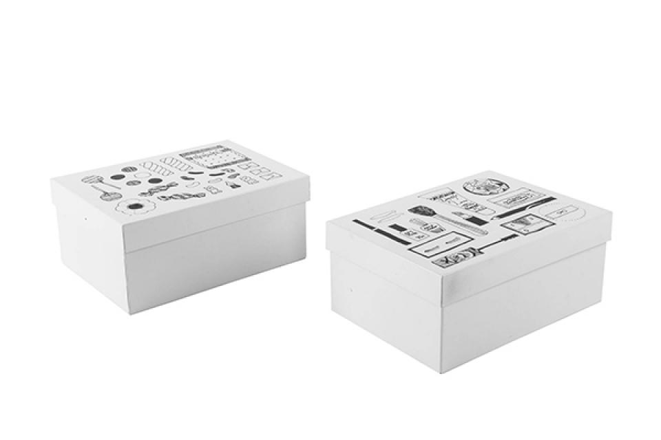 Kutija tidy/ metal 18,5x13,5x8,5 2 modela