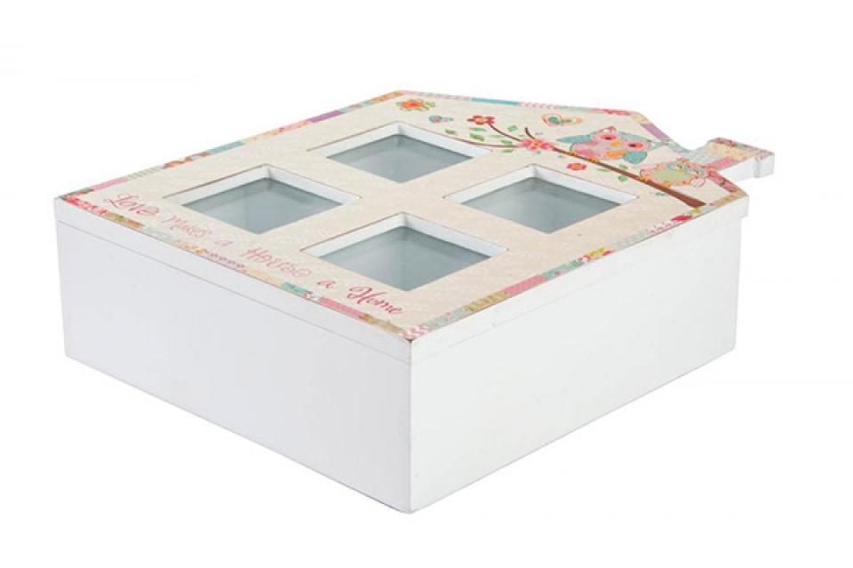 Kutija za čaj 20x25x7 sove