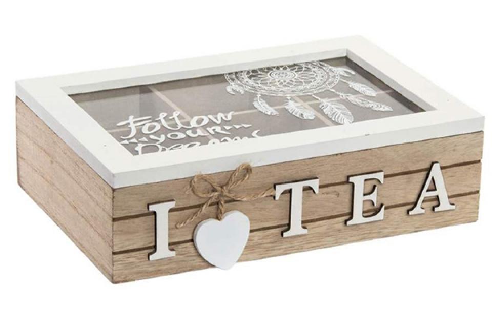 Kutija za čaj boho 24x16x7