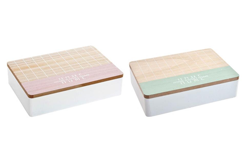 Kutija za čaj home 24x16,5x6 2 modela
