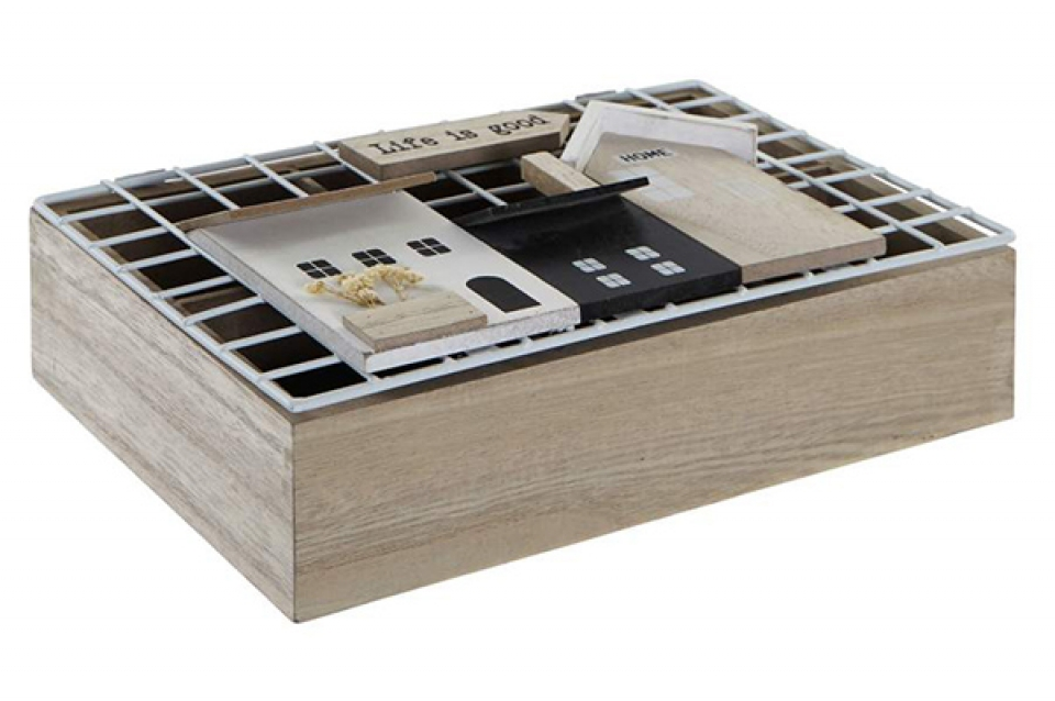 Kutija za čaj houses 26x17x8