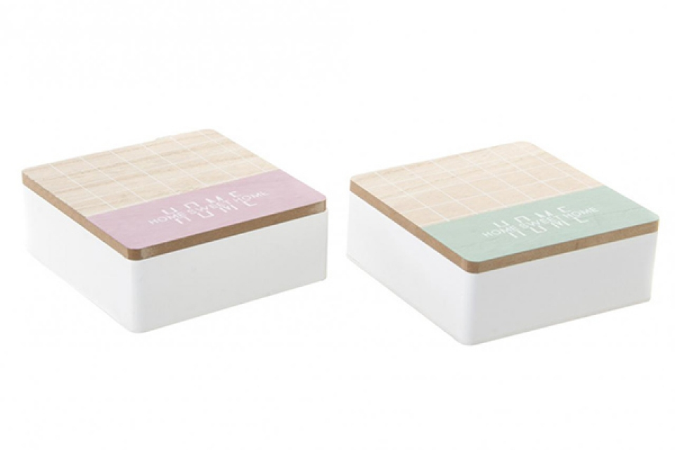 Kutija za čaj kocke 15x15x6 2 modela