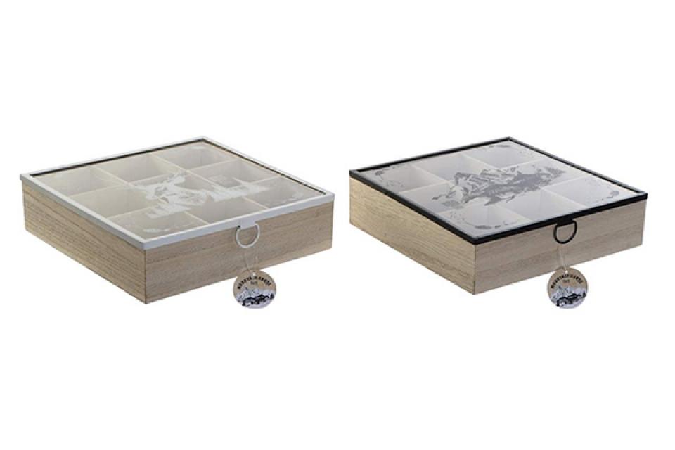 Kutija za čaj montana 24x24x7 2 modela