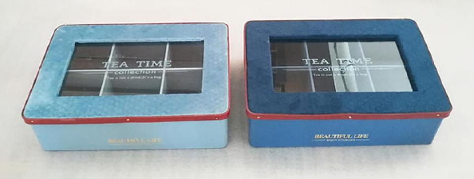 Kutija za čaj velvet 25x17x7 velvet 2 modela