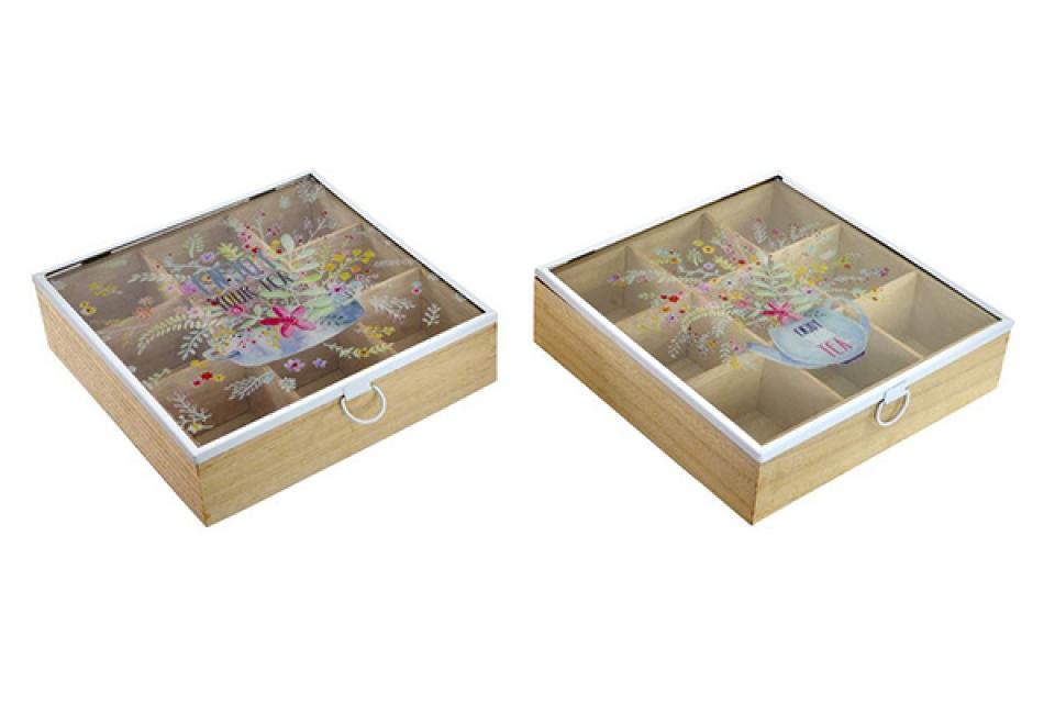 Kutija za čaj your tea 24x24x6 2 modela