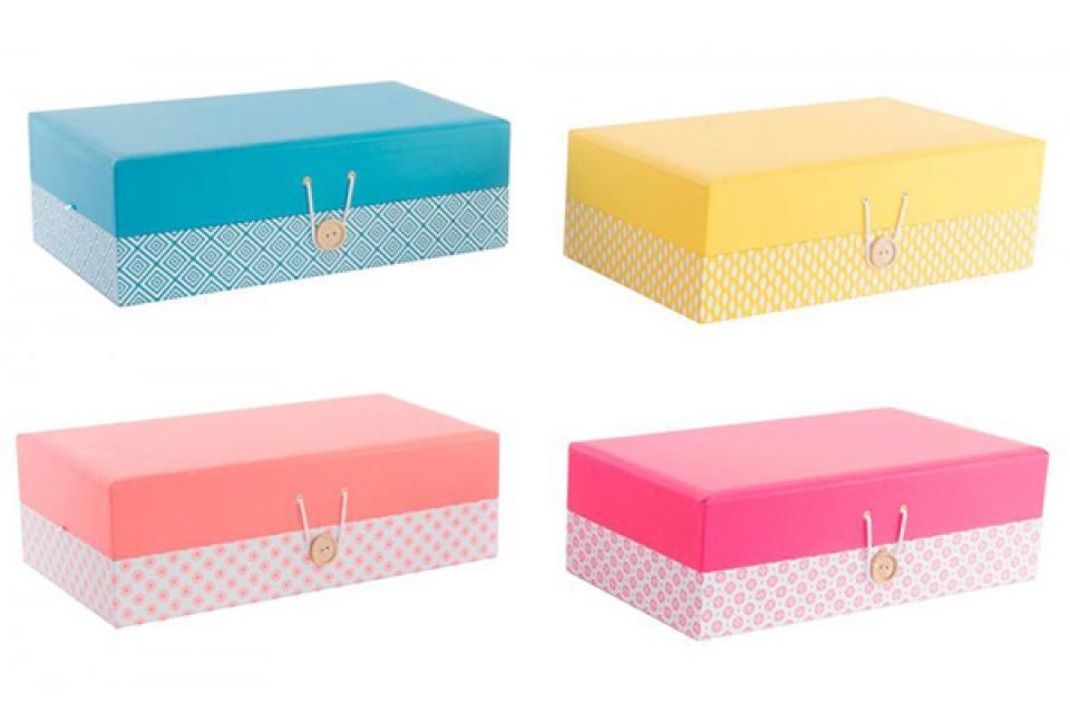 Kutija za nakit boje 30x17x10 4 modela