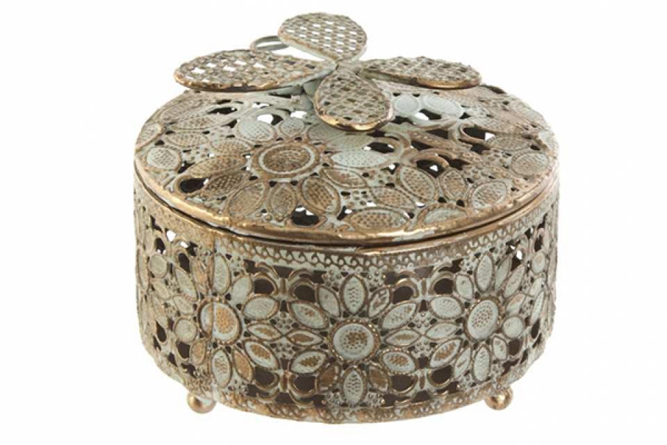 Kutija za nakit ethnic flower 12x9