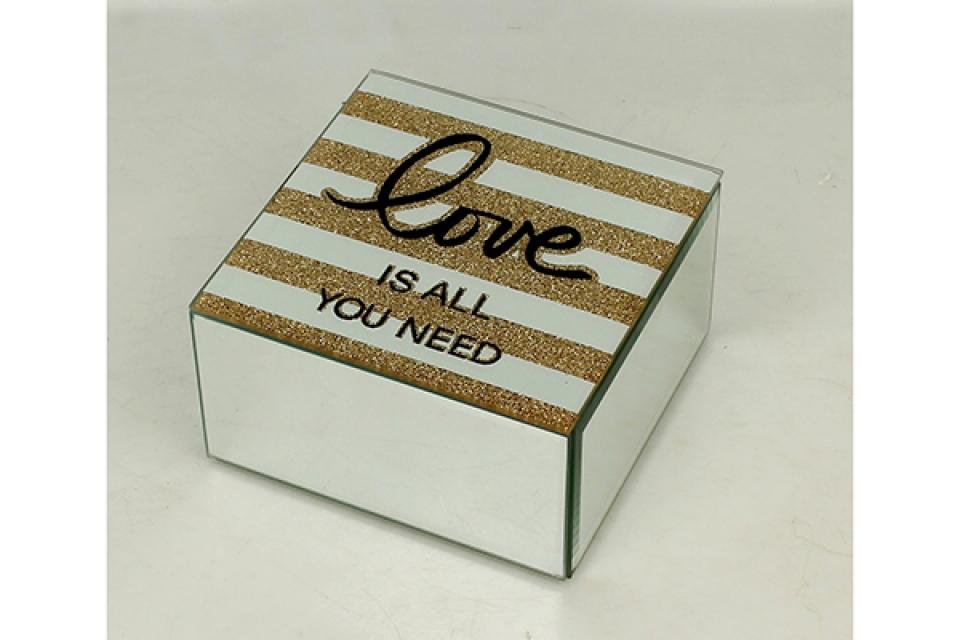 Kutija za nakit love 6,5 x 12 x 14