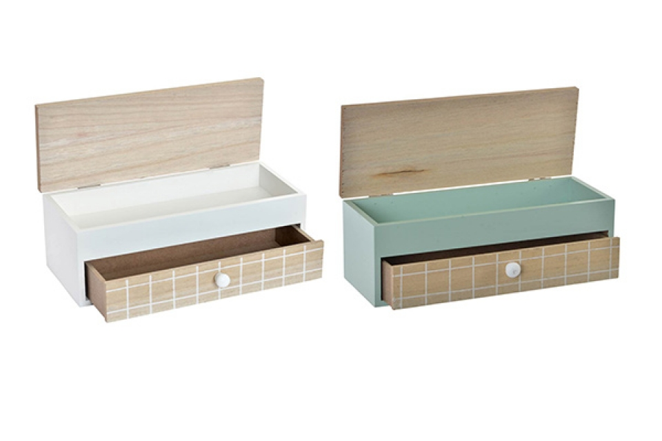 Kutija za nakit sa fiokom  24x9x8,5 2 modela