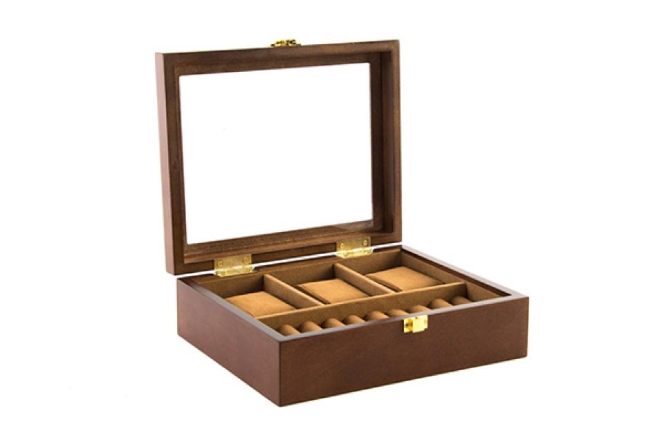 Kutija za satove brown 21x18x8
