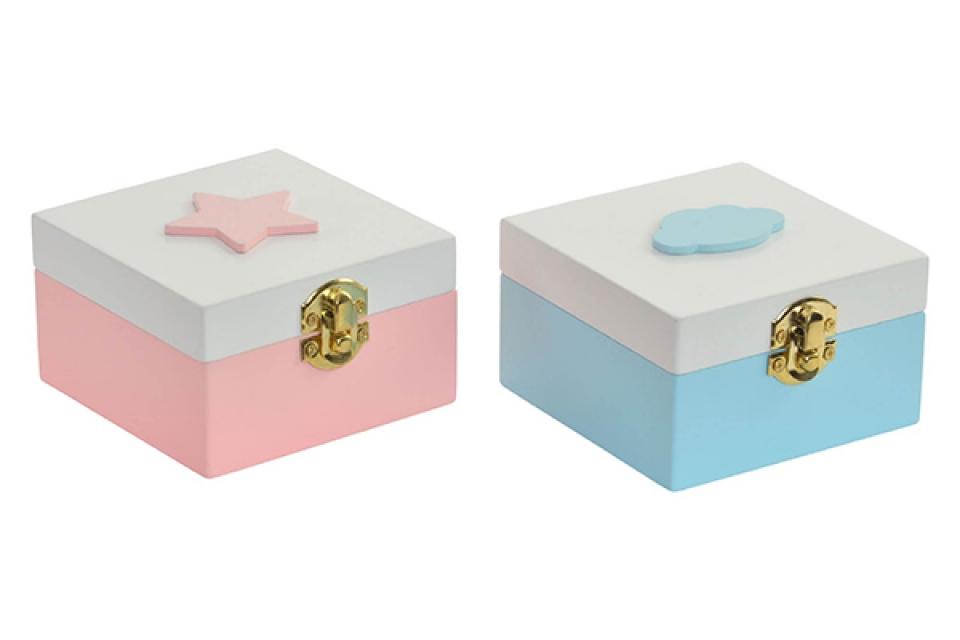 Kutija zvezda 10x10x6 2 modela