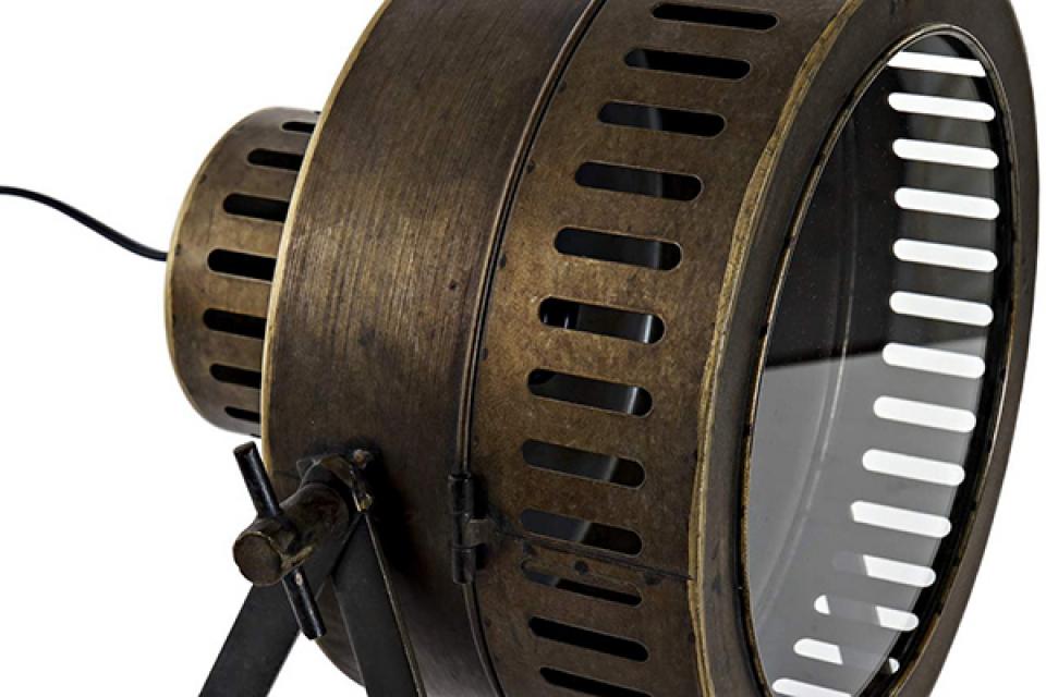 Lampa aged golden 32x29,5x41