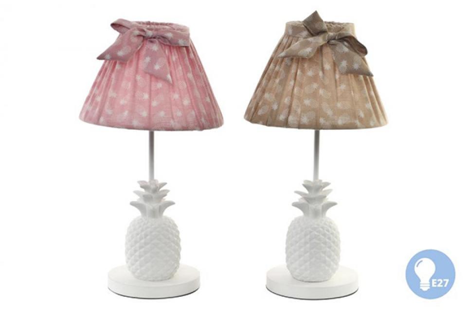 Lampa beli ananas 22x40 2 modela, sobne lampe