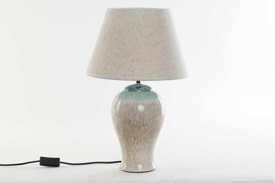 Stona lampa blue 30x48