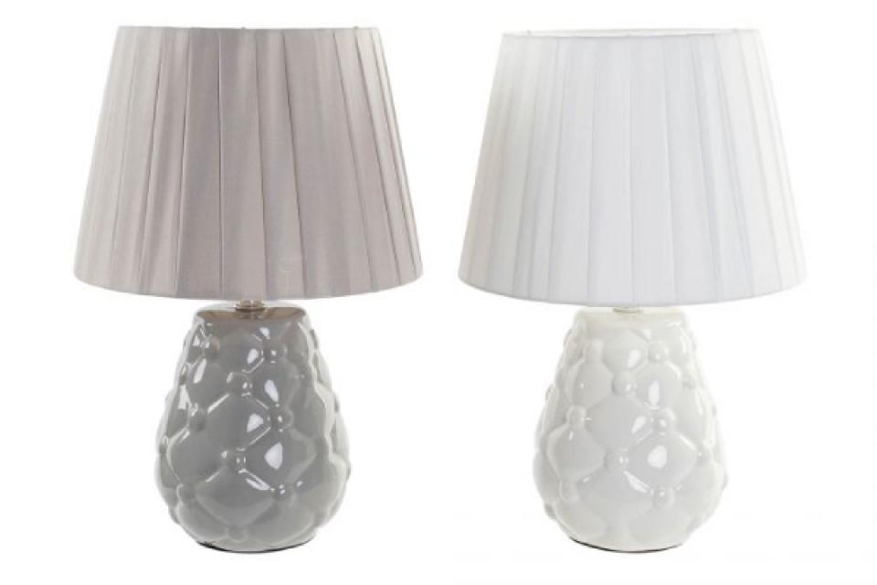 Lampa grey & white 34x34x38 e14 2 modela