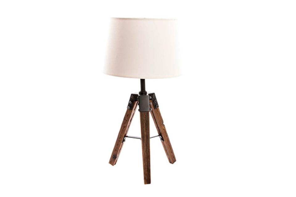 Lampa krem 30x30x54 metal