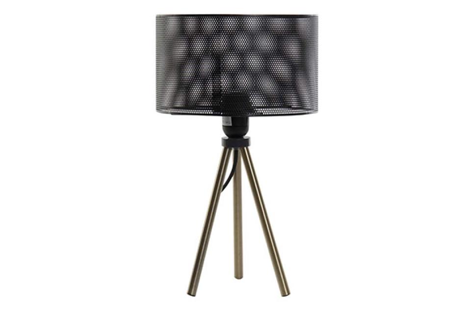 Lampa sa rupičastim abažurom 22x22x36