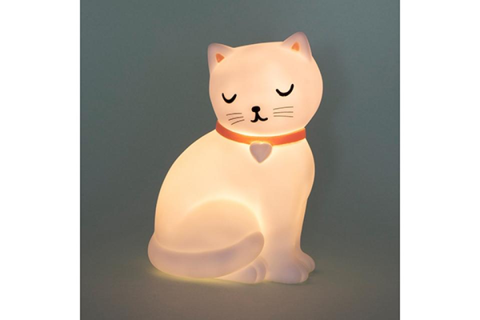 Lampa na baterije mačka 10 x 15