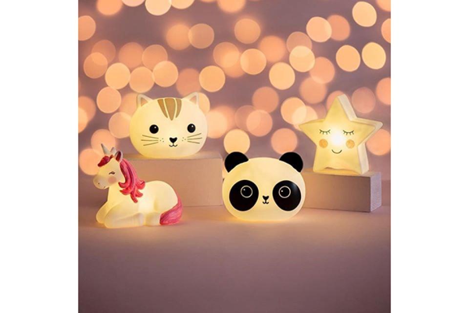 Lampa panda na baterije 15x8x12.8