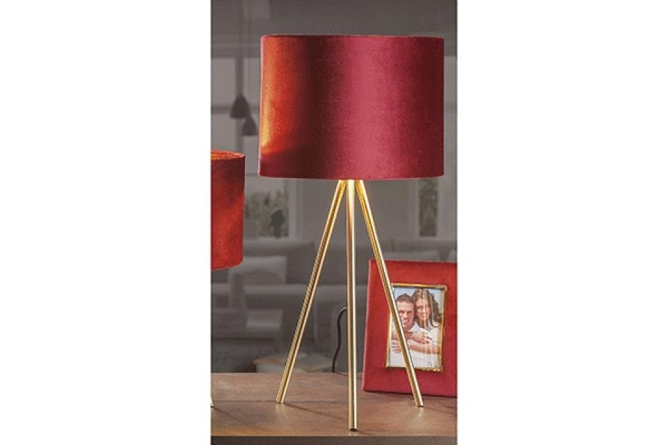 Lampa pliš 30 x 62 4 boje