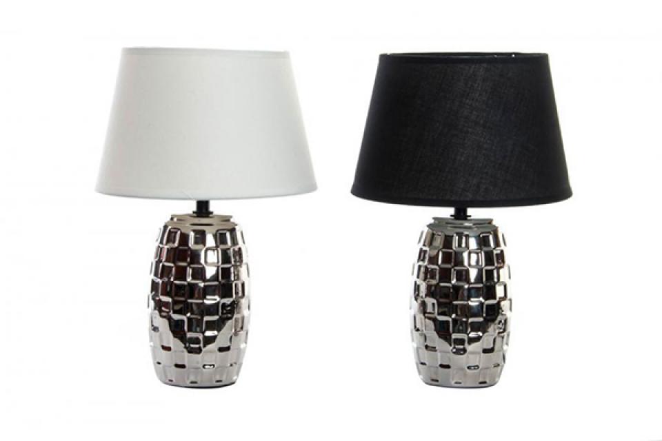 Lampa sa crnim i belim abažurom  20x31 e27 2 modela