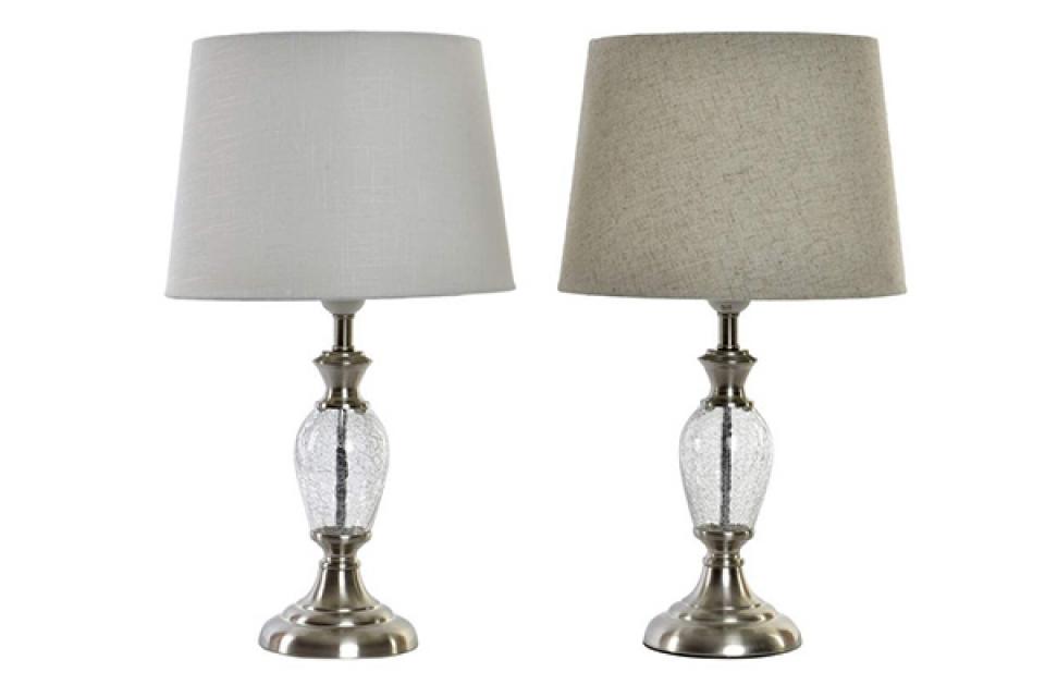 Lampa sa staklenim detaljima 28x49 2 modela