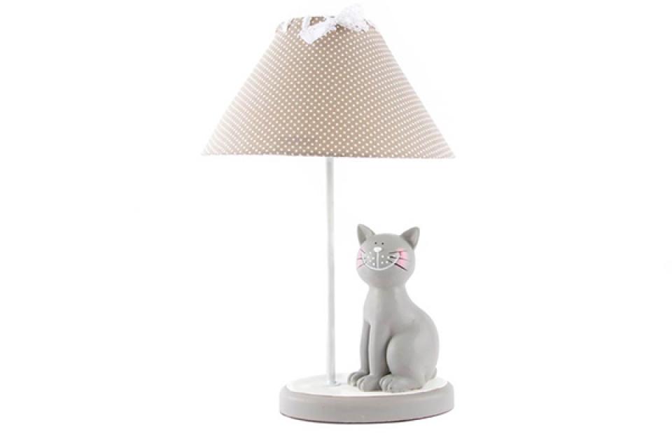 Lampa siva mačka 27x42