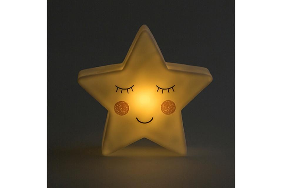 Lampa sweet dreams star / baterije  14,5x4,6x14,5