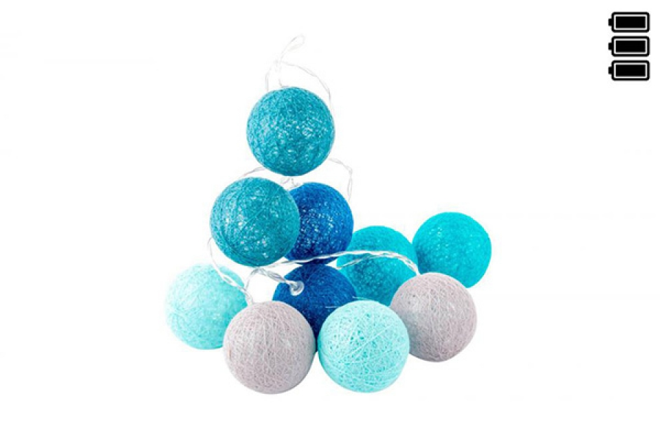 Lampioni loptice / 6 x 150 blue