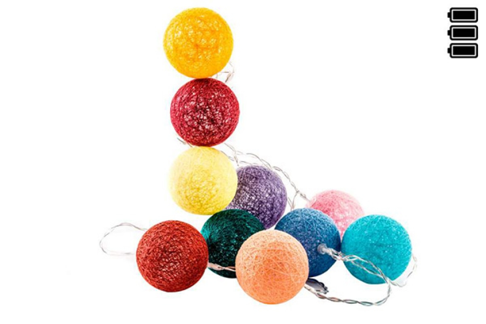 Lampioni loptice u bojama/6x150