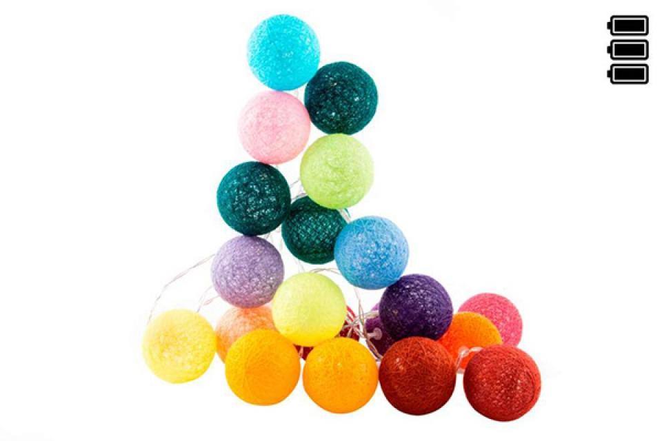 Lampioni loptice u bojama/6x300