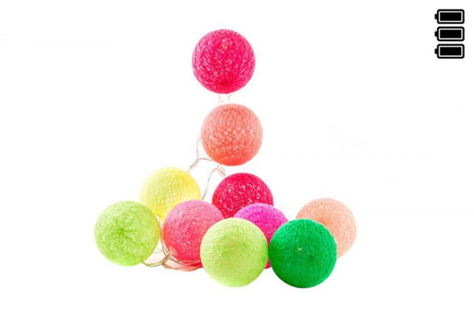 Lampioni loptice u veselim bojama/6x150