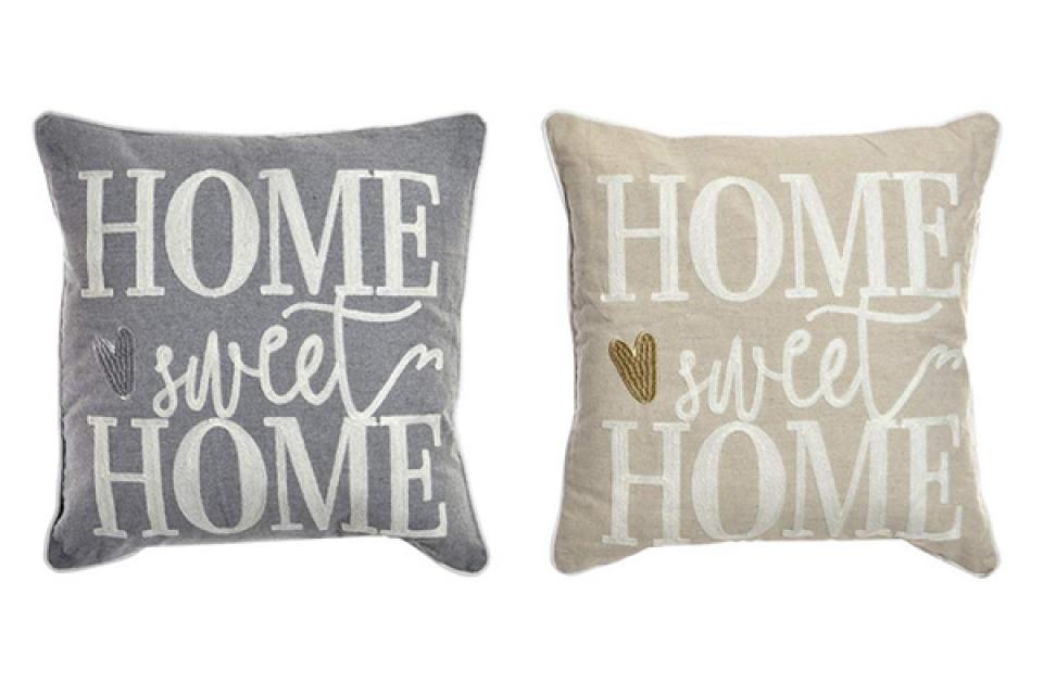 Laneni jastuk sweet home 45x45 558 gr. 2 boje