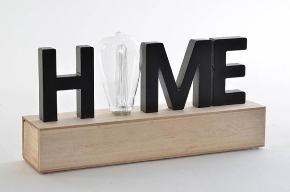 Led dekoracija home natural 34x8x17,5
