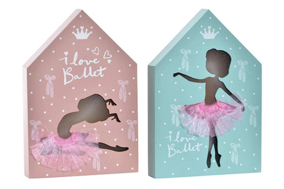 Led dekoracija i love ballet 17x3.5x25 2 modela