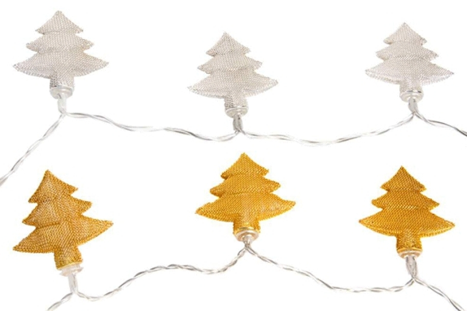 Led dekoracija jelka 150 cm 2 boje