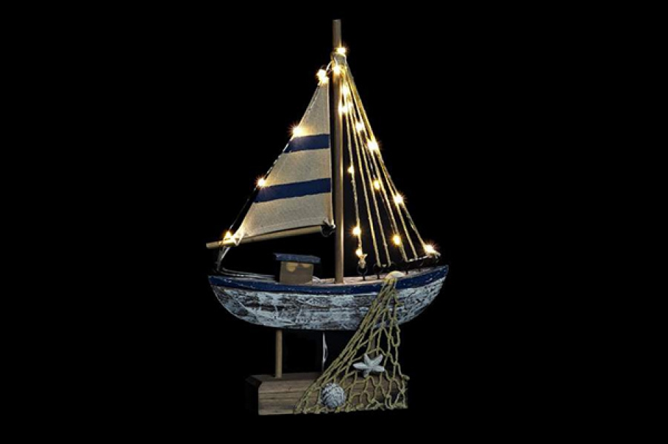 Led figura ship 23,5x7x35